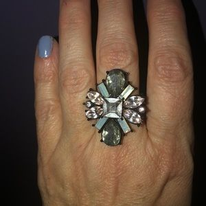 Shiny ring size 8 INC brand NWT